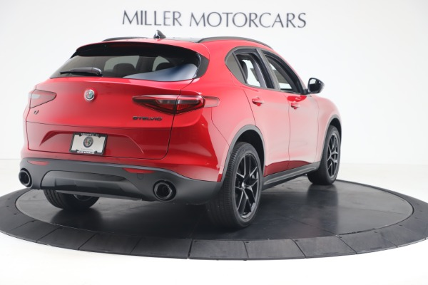 New 2020 Alfa Romeo Stelvio Q4 for sale $49,240 at Rolls-Royce Motor Cars Greenwich in Greenwich CT 06830 7