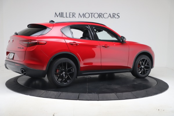 New 2020 Alfa Romeo Stelvio Q4 for sale $49,240 at Rolls-Royce Motor Cars Greenwich in Greenwich CT 06830 8