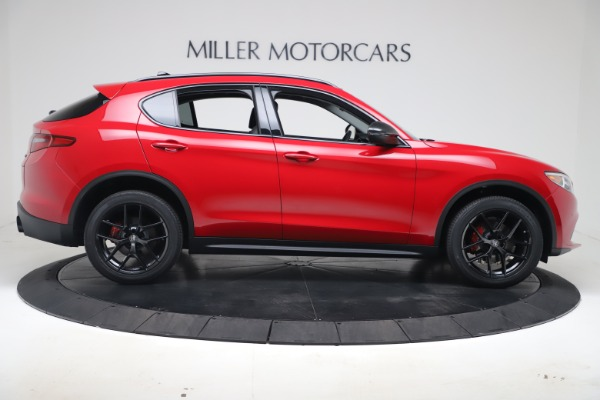 New 2020 Alfa Romeo Stelvio Q4 for sale $49,240 at Rolls-Royce Motor Cars Greenwich in Greenwich CT 06830 9