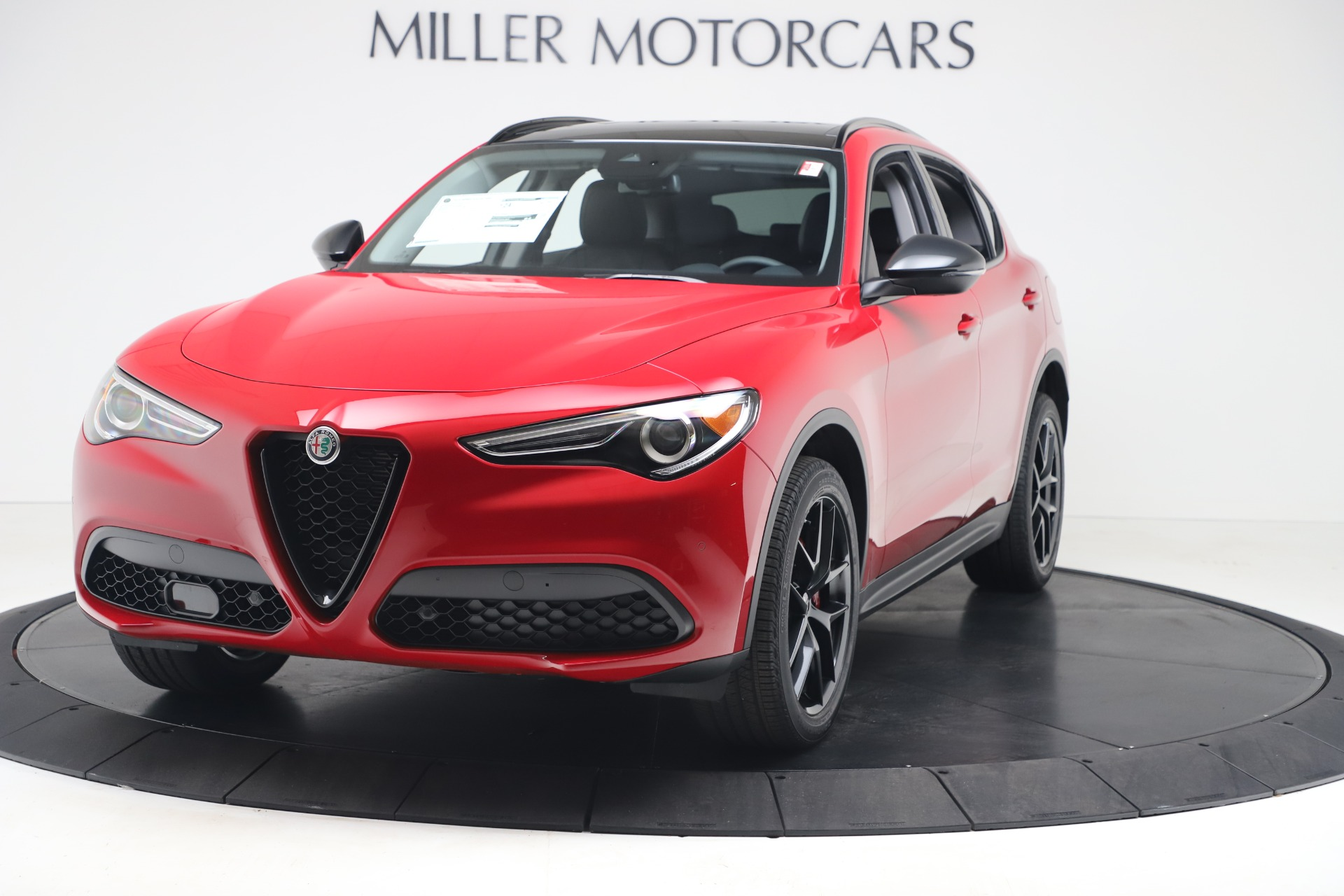 New 2020 Alfa Romeo Stelvio Q4 for sale $49,240 at Rolls-Royce Motor Cars Greenwich in Greenwich CT 06830 1