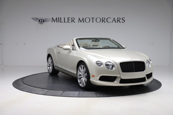 Used 2015 Bentley Continental GTC V8 for sale Sold at Rolls-Royce Motor Cars Greenwich in Greenwich CT 06830 11