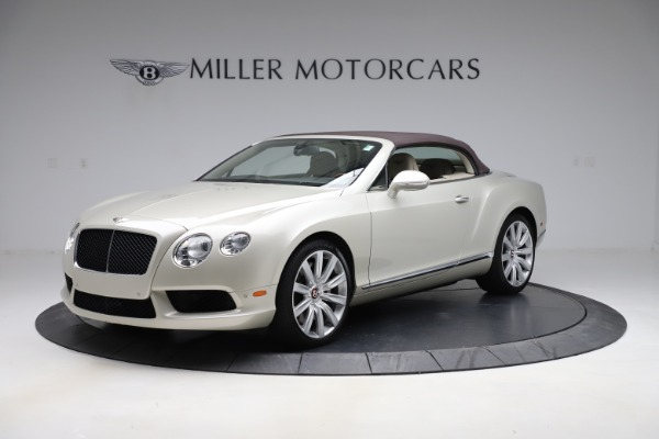 Used 2015 Bentley Continental GTC V8 for sale Sold at Rolls-Royce Motor Cars Greenwich in Greenwich CT 06830 13