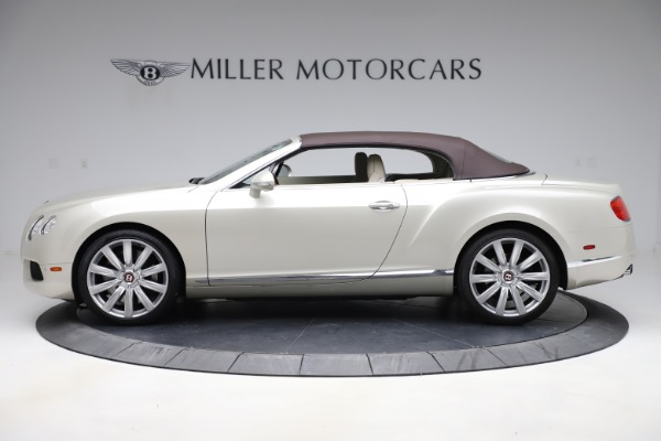 Used 2015 Bentley Continental GTC V8 for sale Sold at Rolls-Royce Motor Cars Greenwich in Greenwich CT 06830 14