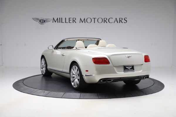 Used 2015 Bentley Continental GTC V8 for sale Sold at Rolls-Royce Motor Cars Greenwich in Greenwich CT 06830 5