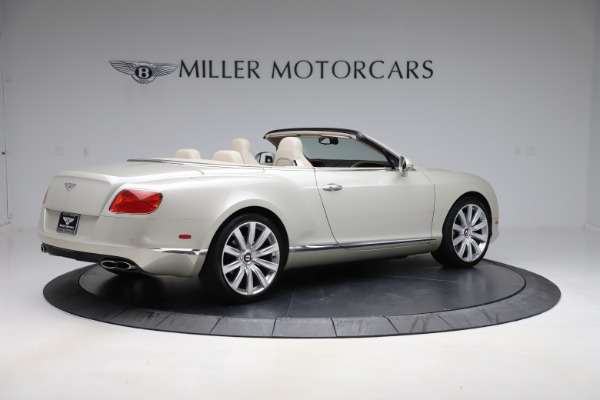 Used 2015 Bentley Continental GTC V8 for sale Sold at Rolls-Royce Motor Cars Greenwich in Greenwich CT 06830 8