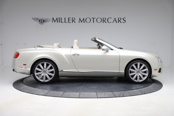 Used 2015 Bentley Continental GTC V8 for sale Sold at Rolls-Royce Motor Cars Greenwich in Greenwich CT 06830 9