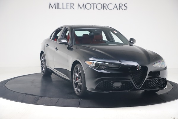 New 2020 Alfa Romeo Giulia Ti Sport Q4 for sale $56,440 at Rolls-Royce Motor Cars Greenwich in Greenwich CT 06830 11