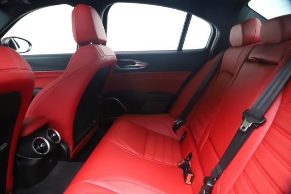 New 2020 Alfa Romeo Giulia Ti Sport Q4 for sale $56,440 at Rolls-Royce Motor Cars Greenwich in Greenwich CT 06830 19