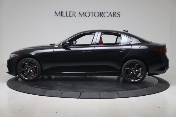 New 2020 Alfa Romeo Giulia Ti Sport Q4 for sale $56,440 at Rolls-Royce Motor Cars Greenwich in Greenwich CT 06830 3