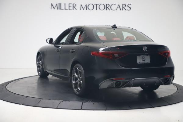 New 2020 Alfa Romeo Giulia Ti Sport Q4 for sale $56,440 at Rolls-Royce Motor Cars Greenwich in Greenwich CT 06830 5
