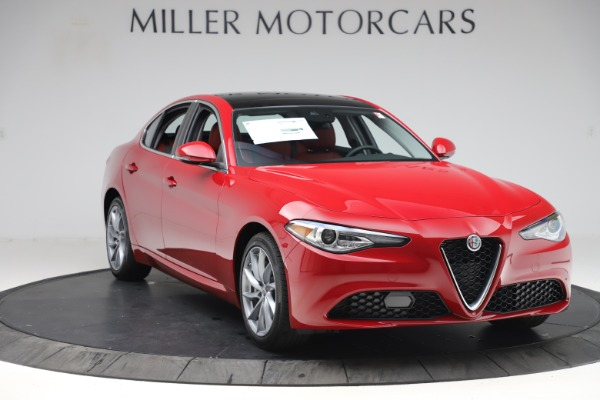 New 2020 Alfa Romeo Giulia Q4 for sale $45,740 at Rolls-Royce Motor Cars Greenwich in Greenwich CT 06830 11