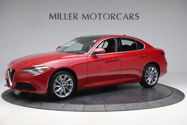 New 2020 Alfa Romeo Giulia Q4 for sale $45,740 at Rolls-Royce Motor Cars Greenwich in Greenwich CT 06830 2
