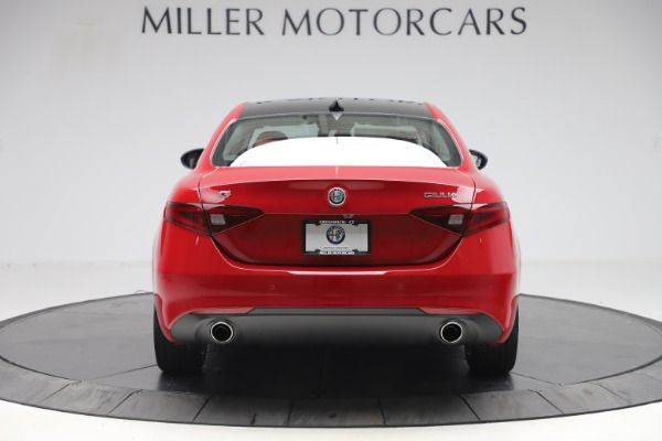 New 2020 Alfa Romeo Giulia Q4 for sale $45,740 at Rolls-Royce Motor Cars Greenwich in Greenwich CT 06830 6