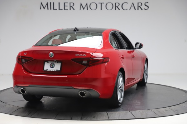 New 2020 Alfa Romeo Giulia Q4 for sale $45,740 at Rolls-Royce Motor Cars Greenwich in Greenwich CT 06830 7