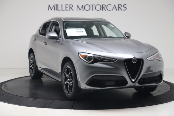 New 2020 Alfa Romeo Stelvio Ti Lusso Q4 for sale $55,790 at Rolls-Royce Motor Cars Greenwich in Greenwich CT 06830 11
