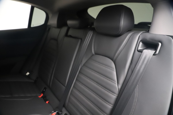 New 2020 Alfa Romeo Stelvio Ti Lusso Q4 for sale $55,790 at Rolls-Royce Motor Cars Greenwich in Greenwich CT 06830 18