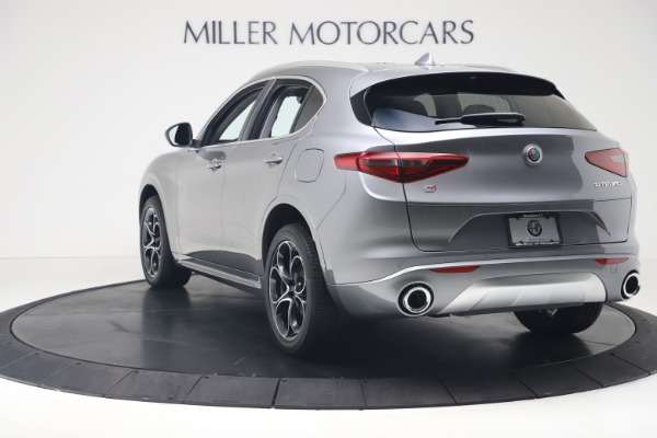 New 2020 Alfa Romeo Stelvio Ti Lusso Q4 for sale $55,790 at Rolls-Royce Motor Cars Greenwich in Greenwich CT 06830 5