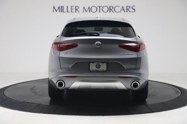 New 2020 Alfa Romeo Stelvio Ti Lusso Q4 for sale $55,790 at Rolls-Royce Motor Cars Greenwich in Greenwich CT 06830 6