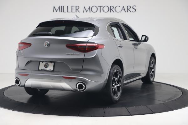 New 2020 Alfa Romeo Stelvio Ti Lusso Q4 for sale $55,790 at Rolls-Royce Motor Cars Greenwich in Greenwich CT 06830 7