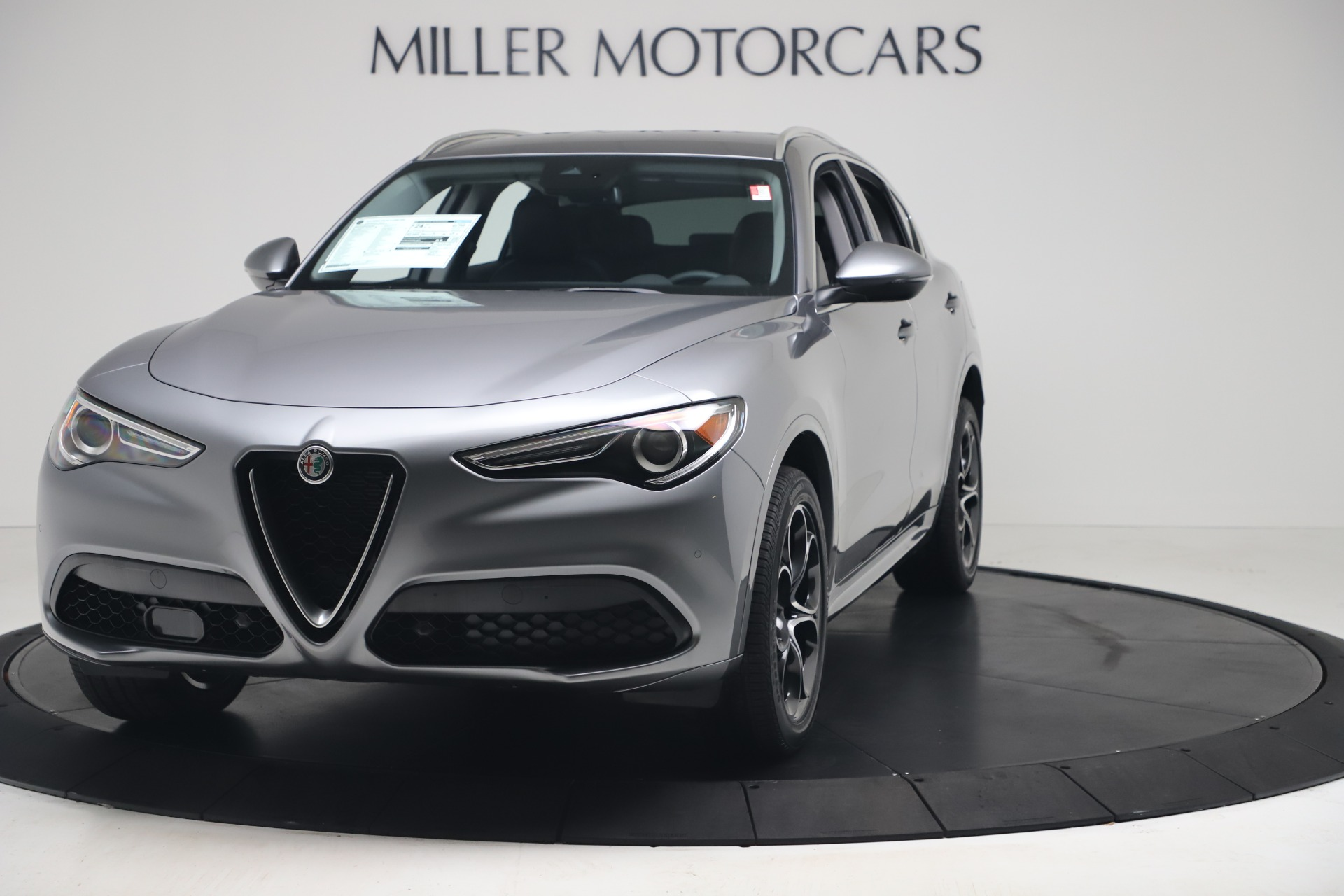 New 2020 Alfa Romeo Stelvio Ti Lusso Q4 for sale $55,790 at Rolls-Royce Motor Cars Greenwich in Greenwich CT 06830 1