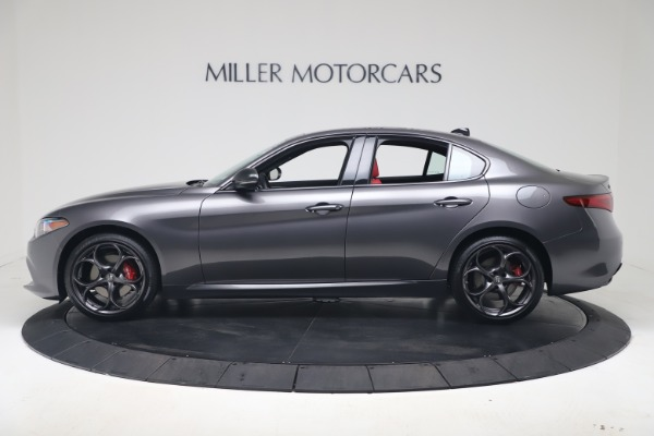 New 2020 Alfa Romeo Giulia Ti Sport Q4 for sale Sold at Rolls-Royce Motor Cars Greenwich in Greenwich CT 06830 3