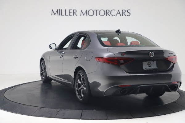 New 2020 Alfa Romeo Giulia Ti Sport Q4 for sale Sold at Rolls-Royce Motor Cars Greenwich in Greenwich CT 06830 5