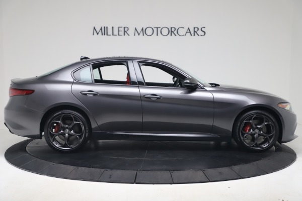 New 2020 Alfa Romeo Giulia Ti Sport Q4 for sale Sold at Rolls-Royce Motor Cars Greenwich in Greenwich CT 06830 9