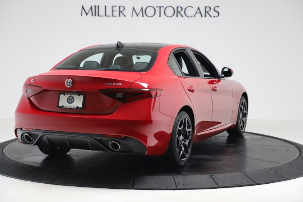 New 2020 Alfa Romeo Giulia Sport Q4 for sale Sold at Rolls-Royce Motor Cars Greenwich in Greenwich CT 06830 7