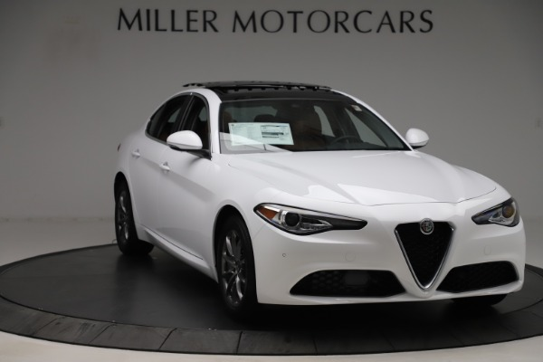 New 2020 Alfa Romeo Giulia Q4 for sale $45,590 at Rolls-Royce Motor Cars Greenwich in Greenwich CT 06830 12