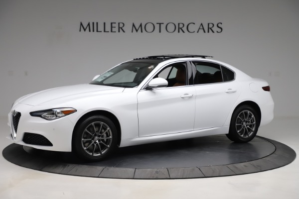 New 2020 Alfa Romeo Giulia Q4 for sale $45,590 at Rolls-Royce Motor Cars Greenwich in Greenwich CT 06830 2