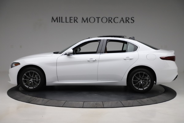 New 2020 Alfa Romeo Giulia Q4 for sale $45,590 at Rolls-Royce Motor Cars Greenwich in Greenwich CT 06830 3