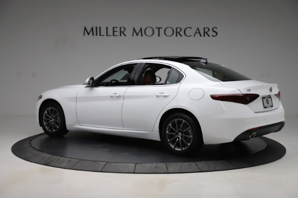 New 2020 Alfa Romeo Giulia Q4 for sale $45,590 at Rolls-Royce Motor Cars Greenwich in Greenwich CT 06830 5