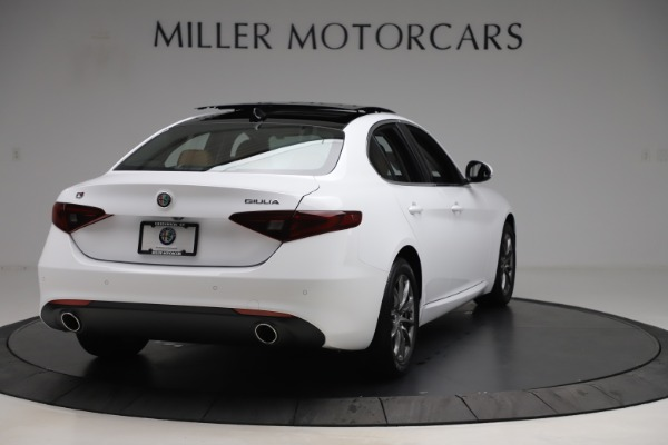 New 2020 Alfa Romeo Giulia Q4 for sale $45,590 at Rolls-Royce Motor Cars Greenwich in Greenwich CT 06830 8