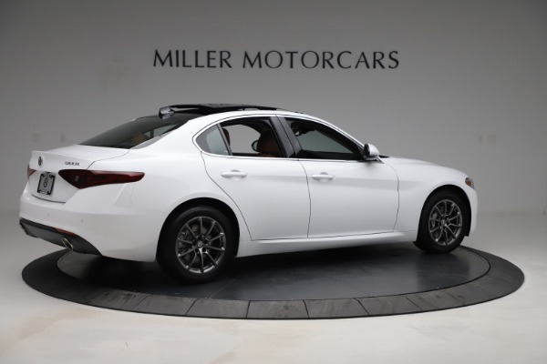 New 2020 Alfa Romeo Giulia Q4 for sale $45,590 at Rolls-Royce Motor Cars Greenwich in Greenwich CT 06830 9