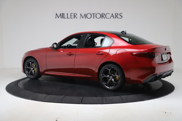 New 2020 Alfa Romeo Giulia Ti Sport Q4 for sale Sold at Rolls-Royce Motor Cars Greenwich in Greenwich CT 06830 4