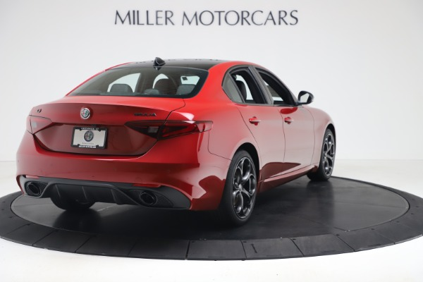 New 2020 Alfa Romeo Giulia Ti Sport Q4 for sale Sold at Rolls-Royce Motor Cars Greenwich in Greenwich CT 06830 7