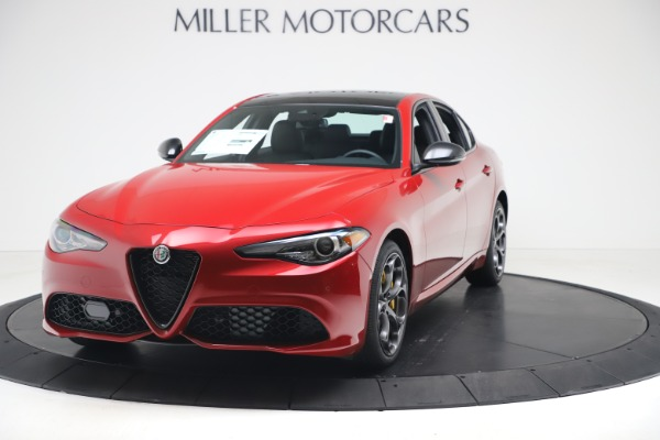 New 2020 Alfa Romeo Giulia Ti Sport Q4 for sale Sold at Rolls-Royce Motor Cars Greenwich in Greenwich CT 06830 1