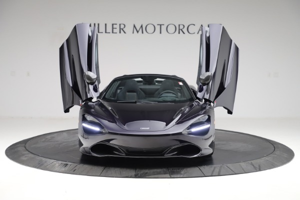 New 2020 McLaren 720S Spider Performance for sale $377,830 at Rolls-Royce Motor Cars Greenwich in Greenwich CT 06830 12