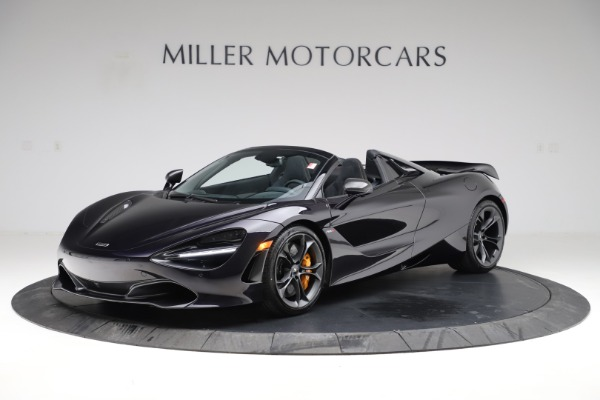 New 2020 McLaren 720S Spider Performance for sale $377,830 at Rolls-Royce Motor Cars Greenwich in Greenwich CT 06830 14