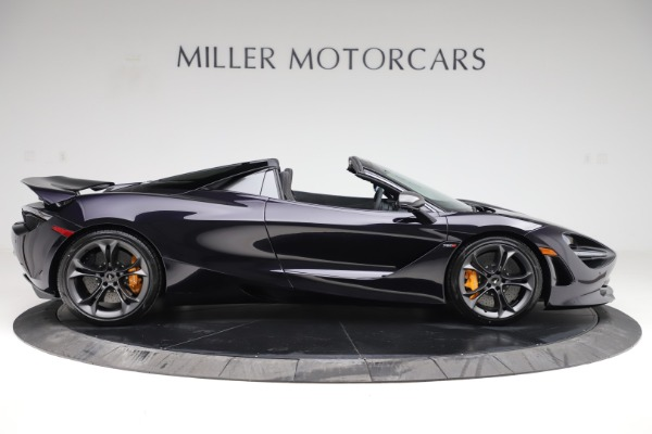 New 2020 McLaren 720S Spider Performance for sale $377,830 at Rolls-Royce Motor Cars Greenwich in Greenwich CT 06830 8