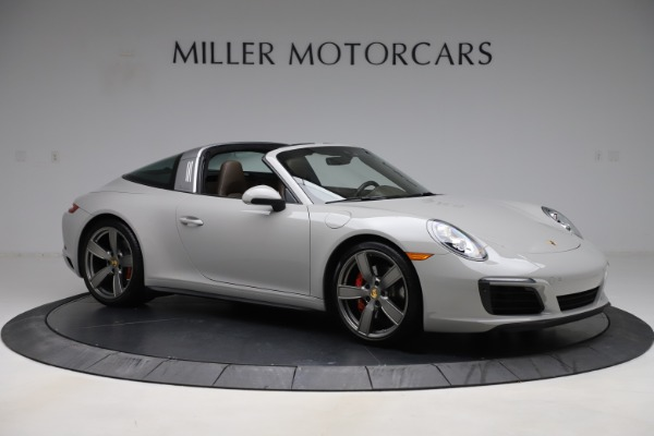 Used 2018 Porsche 911 Targa 4S for sale $134,900 at Rolls-Royce Motor Cars Greenwich in Greenwich CT 06830 10