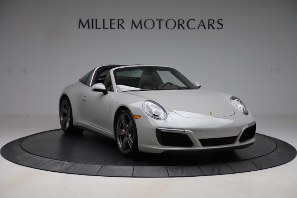 Used 2018 Porsche 911 Targa 4S for sale $134,900 at Rolls-Royce Motor Cars Greenwich in Greenwich CT 06830 11