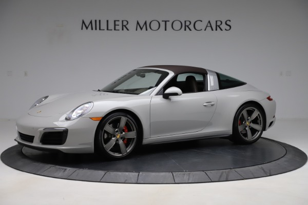 Used 2018 Porsche 911 Targa 4S for sale $134,900 at Rolls-Royce Motor Cars Greenwich in Greenwich CT 06830 12