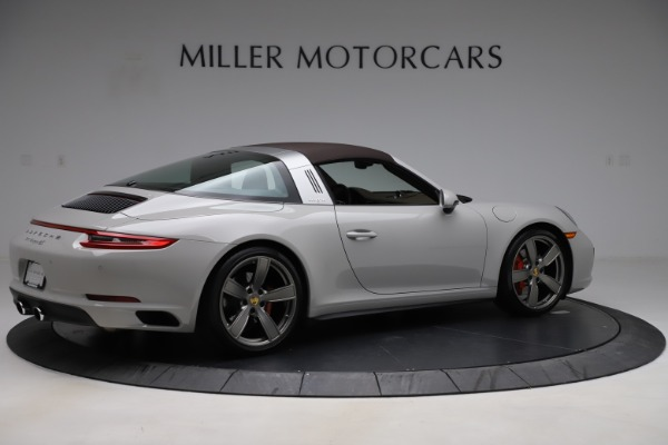 Used 2018 Porsche 911 Targa 4S for sale $134,900 at Rolls-Royce Motor Cars Greenwich in Greenwich CT 06830 14