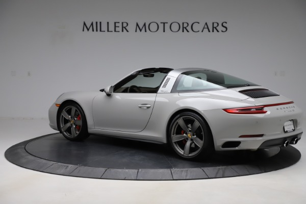 Used 2018 Porsche 911 Targa 4S for sale $134,900 at Rolls-Royce Motor Cars Greenwich in Greenwich CT 06830 4