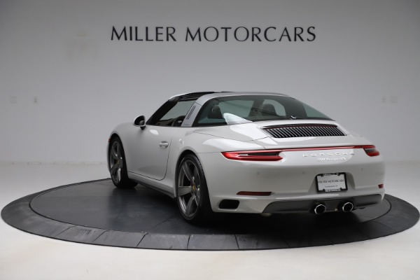 Used 2018 Porsche 911 Targa 4S for sale $134,900 at Rolls-Royce Motor Cars Greenwich in Greenwich CT 06830 5