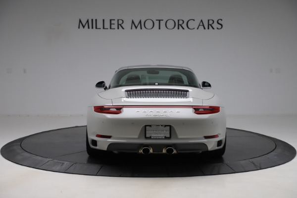 Used 2018 Porsche 911 Targa 4S for sale $134,900 at Rolls-Royce Motor Cars Greenwich in Greenwich CT 06830 6