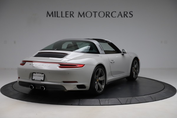 Used 2018 Porsche 911 Targa 4S for sale $134,900 at Rolls-Royce Motor Cars Greenwich in Greenwich CT 06830 7