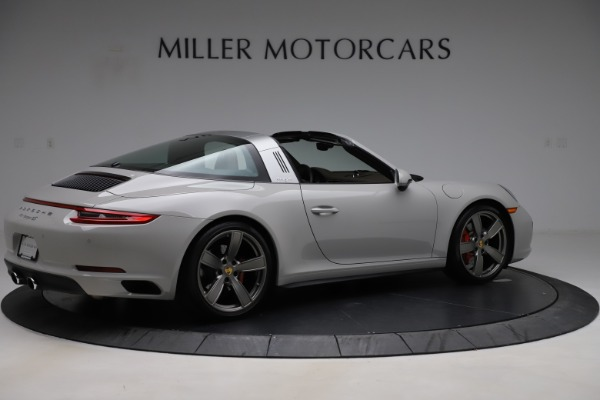 Used 2018 Porsche 911 Targa 4S for sale $134,900 at Rolls-Royce Motor Cars Greenwich in Greenwich CT 06830 8