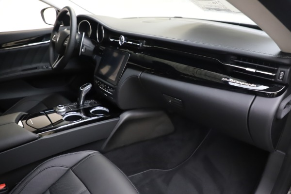 New 2020 Maserati Quattroporte S Q4 GranSport for sale $121,885 at Rolls-Royce Motor Cars Greenwich in Greenwich CT 06830 21
